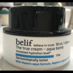 Belif Aqua Bomb: used twice: purchased at Sephora